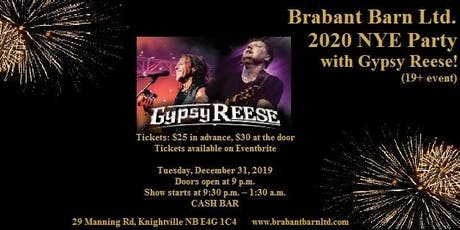 Brabant Barn Ltd - 2020 NYE Party tickets