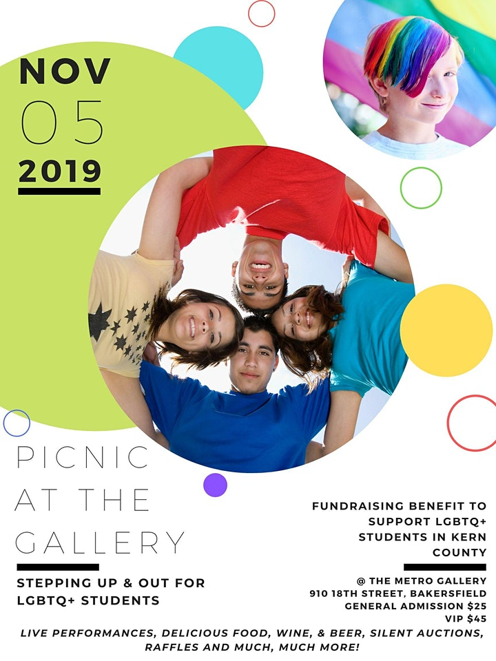 Picnic @ the Gallery:  Stepping Up and OUT for Students image