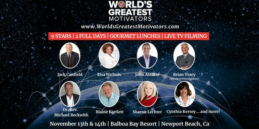 World's Greatest Motivators Live Filming