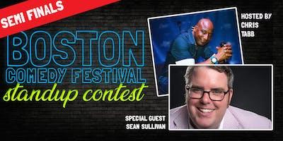 Boston Comedy Festival Stand Up Contest: Semi Final 1