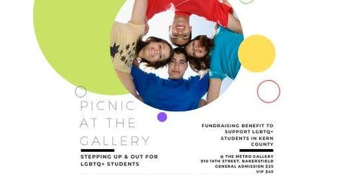 Picnic @ the Gallery:  Stepping Up and OUT for Students