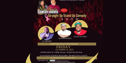 Straight Up Stand Up  Comedy  SHOW -NitaRae's Comedy Lounge
