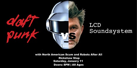 LCD SOUNDSYSTEM VS DAFT PUNK - TRIBUTE NIGHT tickets