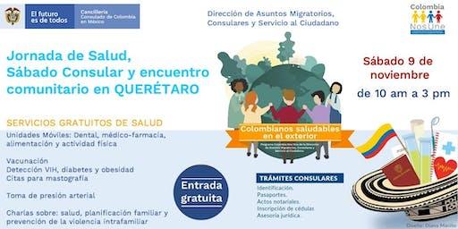 1a. Jornada de Salud, Sábado Consular y Encuentro Comunitario en Querétaro