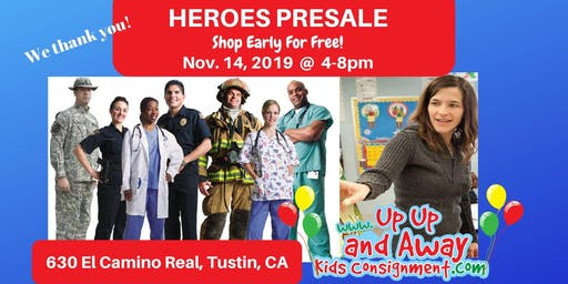 POP-UP EVENT Up Up And Away Kids FREE Heroes PreSale