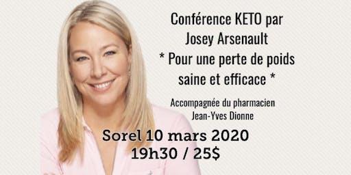 SOREL - Conférence KETO - Pour une perte de poids saine et efficace!