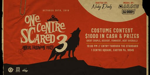 One Centre Scared 3 - Halloween Party