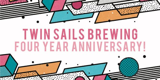 Twin Sails Brewing - 4 year Anniversary
