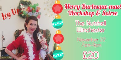 Burlesque-mas Workshop and Shindig
