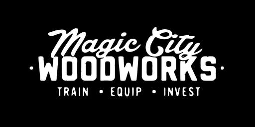 Magic City Woodworks Dinner in the Woodshop