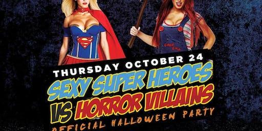 HONEY U THURSDAYS | SUPERHEROS VS VILLAINS PARTY