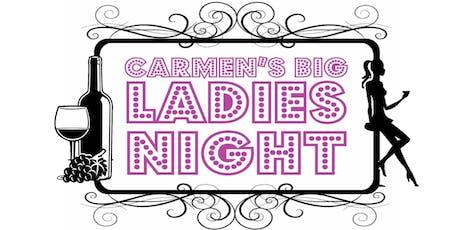Carmen's Big Ladies Night tickets
