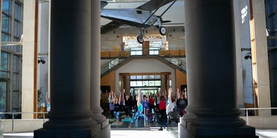 Yoga + Flow at Missouri History Museum