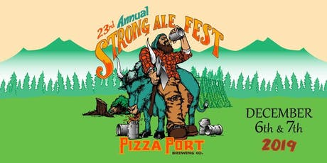 Pizza Port's 23rd Annual Strong Ale Festival tickets