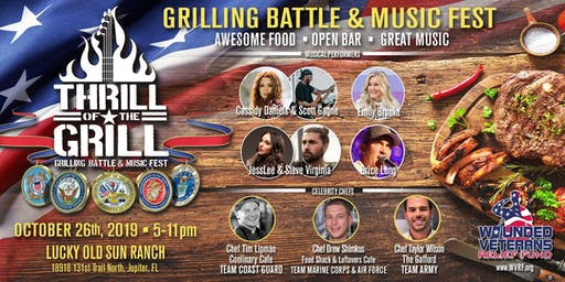 """""""Thrill of the Grill"""" Culinary combat and Music festival"""