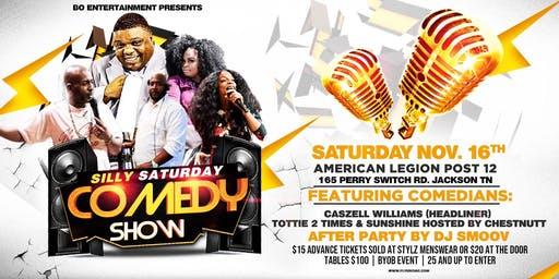 Silly Saturday Comedy Show/Afterparty