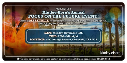 Kimley-Horn's Annual Focus on the Future Event!