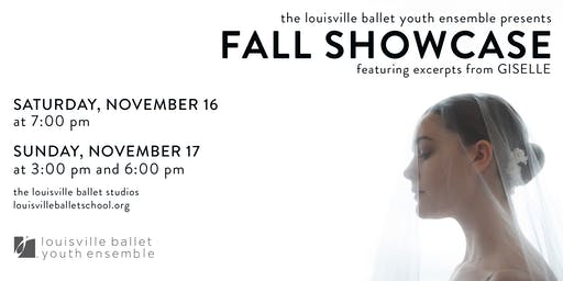 The Louisville Ballet Youth Ensemble presents – Fall Showcase (CAST B)
