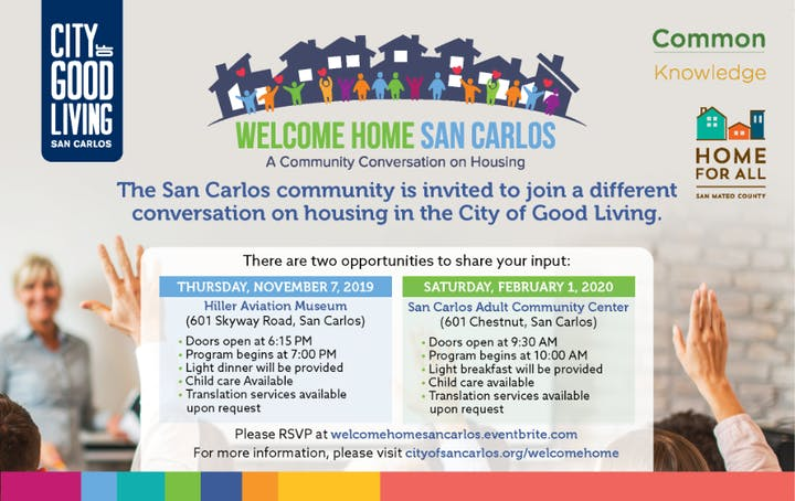 Welcome Home 2020.Welcome Home San Carlos Second Meeting Tickets Sat Feb 1