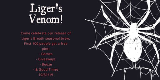Liger's Venom Halloween Party Release!