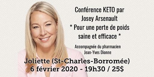 JOLIETTE - Conférence KETO - Pour une perte de poids saine et efficace!