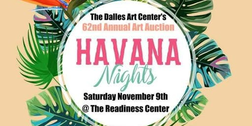 The Dalles Art Center presents Havana Nights, 62nd Annual Art Auction