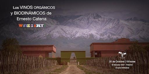 Los VINOS ORGÁNICOS y BIODONÁMICOS de Ernesto Catena