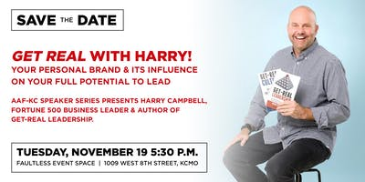 "Harry presents ""Get Real Leadership"""