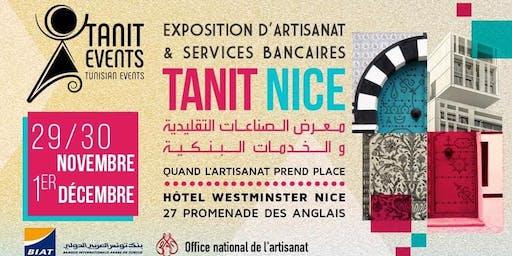 TANIT NICE / Exposition d'Artisanat & Services bancaires