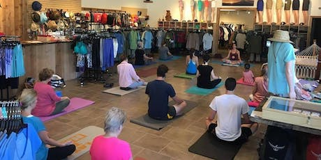 Free Yoga Class with Ruth O'Donnell tickets