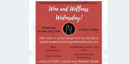 Wine and Wellness Wednesday