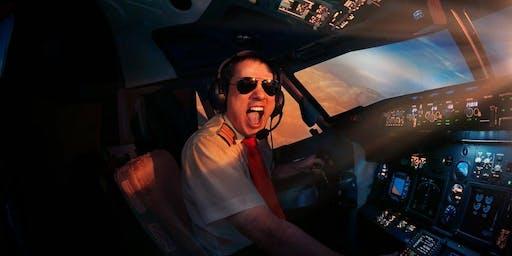 Dream Aero: Grand Opening of the 1st Flight Simulator of B737 in DC!