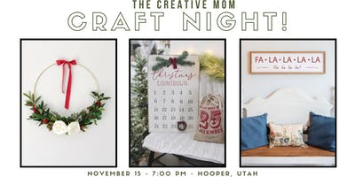 The Creative Mom Craft Night