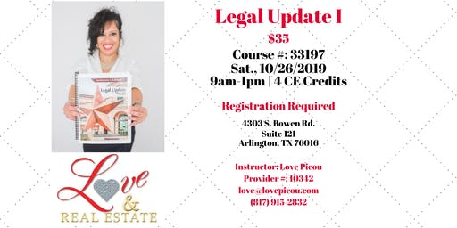 TREC LEGAL UPDATE I