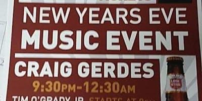 New Year's Eve w/ Craig Gerdes