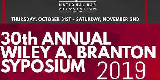 2019 National Bar Association Wiley A. Branton Symposium