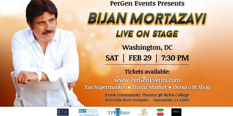 Bijan Mortazavi Live on Stage in Washington DC tickets