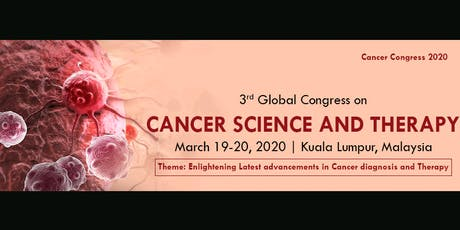 3rd Global Congress on Cancer Science and Therapy (aac) AS tickets