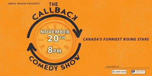 Callback Comedy Show