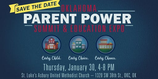 Oklahoma Parent Power Summit & Education Expo 2019