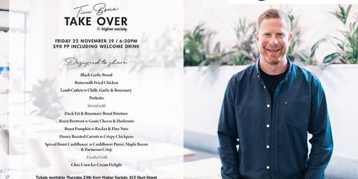 Tim Bone Takeover at Higher Society