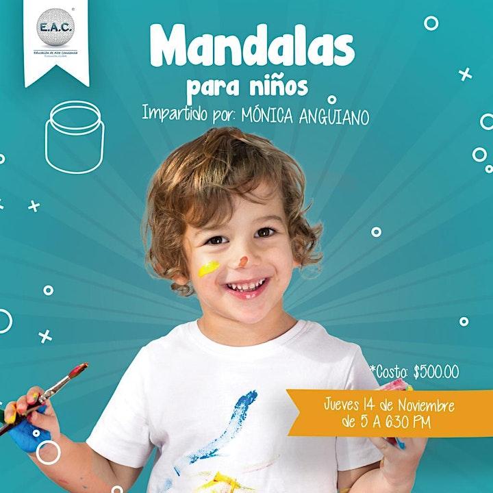 Imagen de Taller: MANDALAS PARA NIÑOS