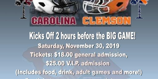 Carolina-Clemson Tailgate Party presented by GEECHEE GIRLZ PRODUCTIONS