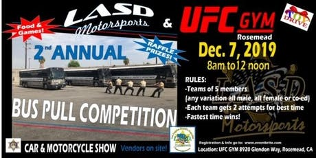 LASD Motorsports Bus Pull Competition tickets