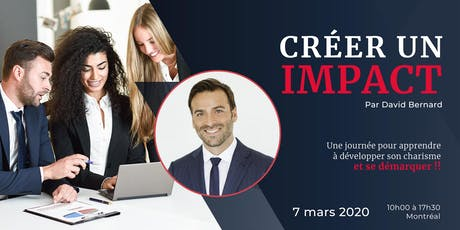 CRÉER UN IMPACT tickets