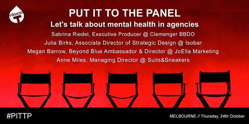 Put it to the Panel: Let's talk about mental health in agencies