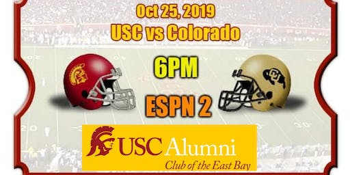 USC EB Trojans Football Game Watch Party: USC V COLORADO