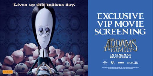 The Addams Family Exclusive Movie Screening