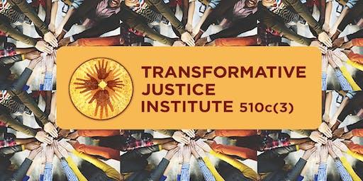 Transformative Justice Institute, Fundraising Luncheon