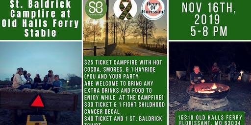 St. Baldricks Campfire at Hammer's Farm